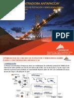 4.Antapaccay Optimizacion Flotacion Remolienda Isamill