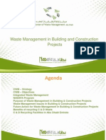 Waste Management in Building and Construction Projects