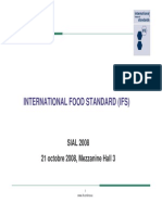 Présentation IFS FOOD