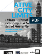 Creative City Limits Urban Cultural Economy in a New Era of Austerity - Andew Harris