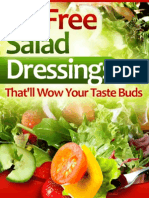 Oil-Free Salad Dressings