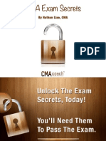CMA Exam Secrets Cheat Sheet