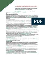 Diseño Sistema de Gestión Mantenimiento Preventivo