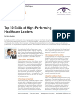 B. E. Smith Career Management_Top 10 Skills of High-Performing Healthcare Leaders