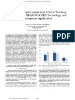 Design and Implementation of Vehicle Tracking System Using GPSGSMGPRS Technology and Smartphone Application