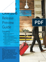Microsoft Dynamics CRM 2016 Release Preview Guide