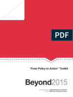 En Beyond 2015 Policy to Action Toolkit