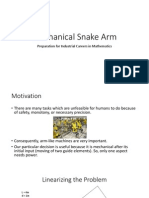 Mechanical Snake Arm Presentation