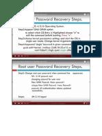 Linux Password Retrive