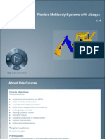 Flexible Multibody Systems with Abaqus 6.14