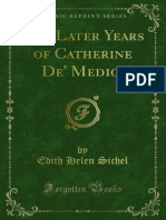 The Later Years of Catherine de Médici - Edith Sichel 1908