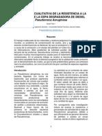 Resistencia a la salinidad Pseudomona Aeruginosa