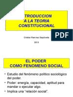 Introduccion a La Teoria Constitucional.