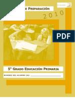 EXAMEN DE 5° PREENLACE 2010 DGO