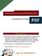 5. Adm. Producción Pronósticos - 11-8-2014