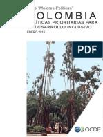 OCDE Politicas Prioritarias Para Un Desarrollo Inclusivo