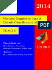 Metodos Numericos para el Calculo Cientifico con Matlab - TOMO 0