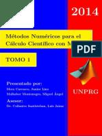 Métodos Numéricos para el Calculo Científico con Matlab - TOMO 1