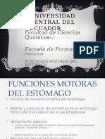 Funciones Motoras Del Estomago