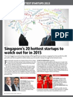 Singapore Business Review - Singapore's Hottest Startups 2015