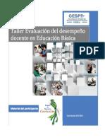 Taller de Evaluación Del Desempeño Docente, Cuetzalan