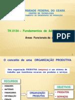 Áreas Funcionais Da Administração