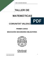 Taller de Matematicas 1 Eso
