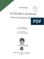 Economia y Sociedad - Weber