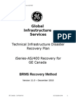 DR Recovery Script - Technical Document - BRMS-V12