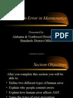 Human Error in Maintenance (1)