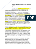 Ética Deontología Bioética