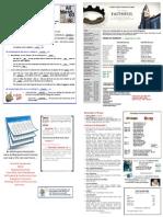 Church St Bulletin for September 27, 2015