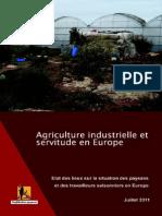 Agriculture Et Servitude en Europe