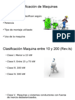 Clasificación de Maquinas