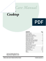 Frigidaire cook Top 318200612 Eng