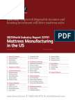 Mattress Manufacturing in the US Industry Report