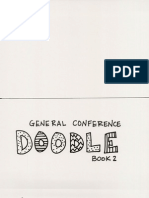 General Conference Doodle Book 2015
