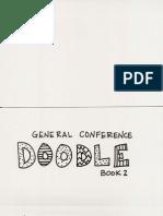 General Conference Doodle Book 2015