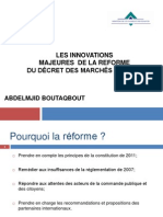 Les InnovationsmajeuresM-Abdelmjid BOUTAQBOUT