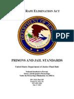 Prisons and Jails Final Standards