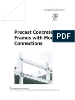 Pre Cast Concrete Frames With Moment Connections