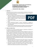 Proyecto Base de Datos II 2015 II
