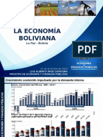 Ministerio de Economia y finanzas, La Eco Boliviana 2014