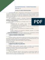 Leyes de La Lógica Proposicional y Demostraciones Matematicas
