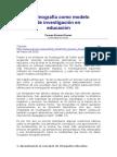 Alvarez - La etnografía como modelo de investigación en educación