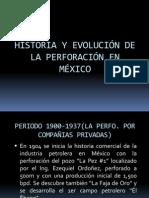 Evolución de La Perf'n en México