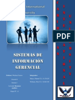 Sistemas de Información Gerencial Peter Williams