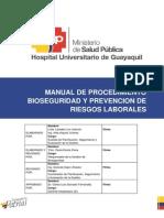 Manual de Procedimiento de Bioseguridad
