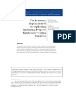 The Economic Implications of Strengthening IP Rights