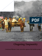 Ongoing Impunity Red